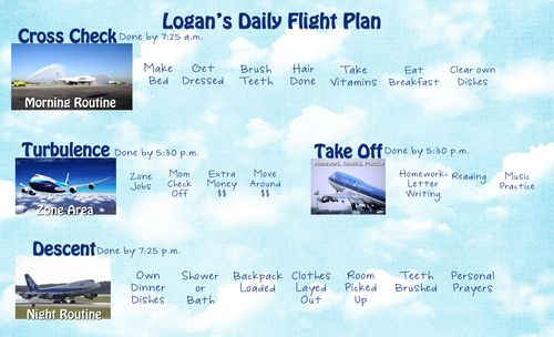 Logan's Flight Plan